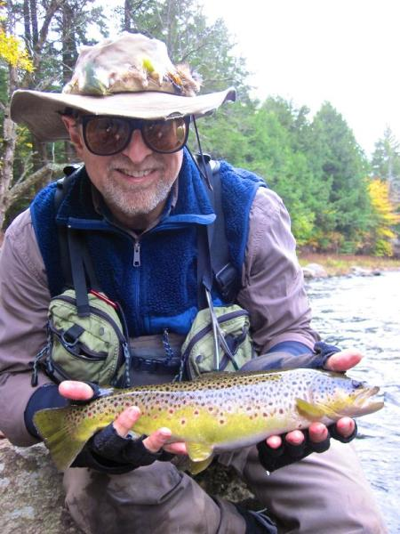 Brown Trout on the West Br. AuSable River
